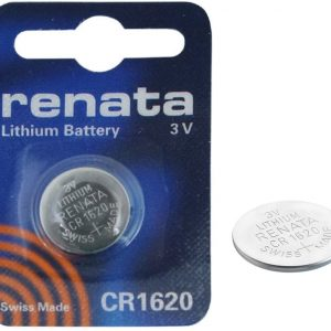 Renata Swiss Made CR1620 3V 68mAh Lithium Batteries Cell Coin Button Watch Battery