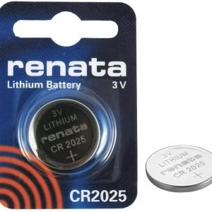 Renata CR2025 3V 165mAh Lithium Batteries