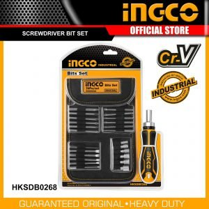 Ingco Screwdriver Set 26 Pcs HKSDB0268