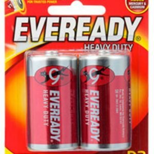 Eveready Battery Size D2 Red