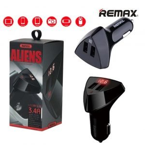 Remax Rcc208 Dual USB Port Car Charger 3.4A RCC208