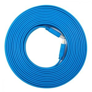 Etrain (DC070) HDMI to HDMI Flat Cable – 10M – Blue
