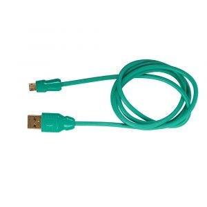 L'avvento (DC14N) Micro USB cable 5 Pin 1M – Green
