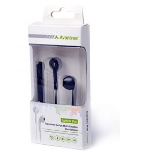 Avantree Ergonomic Design Universal Headphone – White