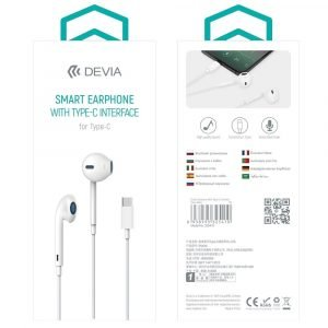 Devia Earphone With Type-C EM048