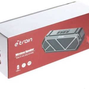 E-Train wireless speaker SP340 with AUX , TF and USN battery 1200mah