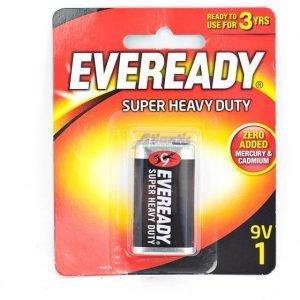 Eveready 9V1 Super Heavy Duty Battery 1222 BP-TMP