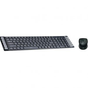 Prsho Dob Wired USB Keyboard and Mouse, Black KM 430
