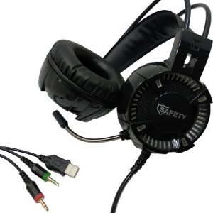 Safety Gaming Stereo Headphones